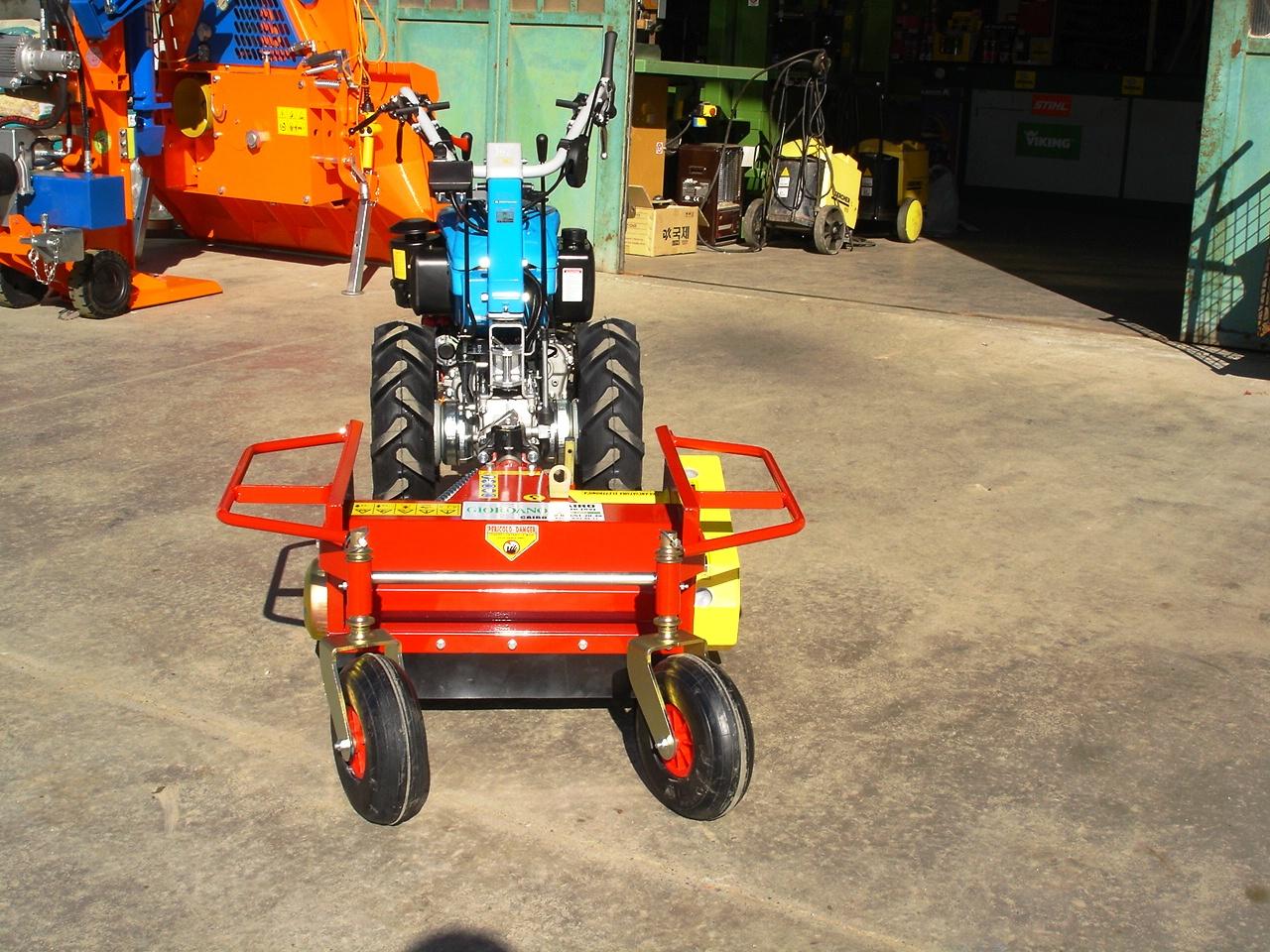 Motocoltivatore nuovo bertolini 411 diesel con trincia for Valpadana motocoltivatori