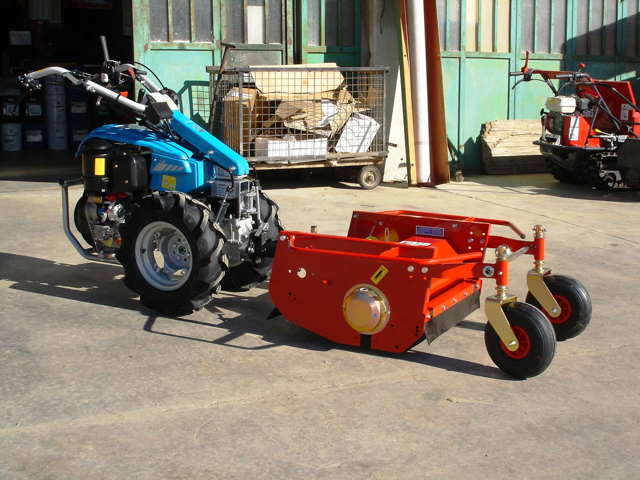 Motocoltivatore nuovo bertolini 411 diesel con trincia for Trincia zanon prezzi