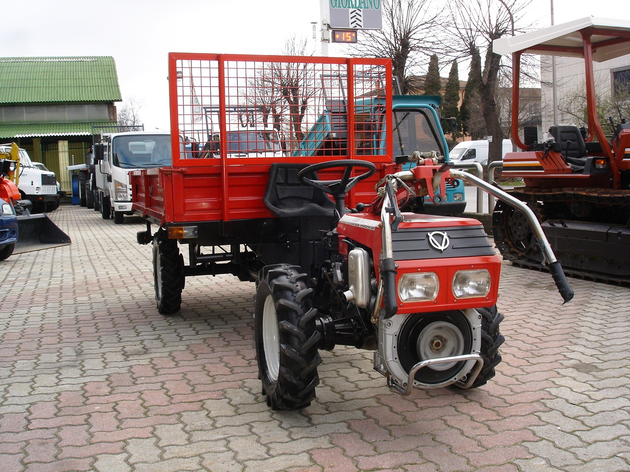 MOTOAGRICOLA MOTOCOLTIVATORE USATO VALPADANA VMC 150 Avv. Elettrico