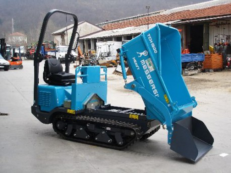 Motocarriola cingolata messersi tch 1500 autocaricante for Motocarriole cingolate usate