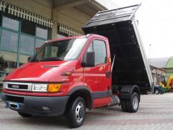 Autocarro Iveco Daily 35C12 HPI Hp. 120 Turbo Intercooler Ribaltabile Trilaterale Usato Sopsensioni Pneumatiche