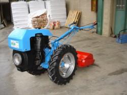 Motocoltivatore usato bertolini 320 valdiluce hp 18 diesel for Motocoltivatore con trincia usato