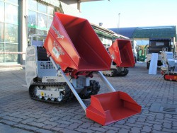 MOTOCARRIOLA CINGOLATA ROTAIR RAMPICAR R70 PLUS HONDA DUMPER AUTOCARICANTE