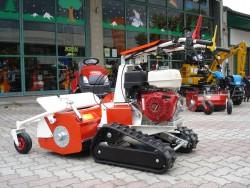 MOTOTRINCIA CINGOLATA TEKNA TTC 80 - NUOVO MODELLO - HONDA GX 390 - VIDEO