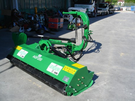 TRINCIATRICE PESANTE LATERALE GEO AGRIF AGF 200