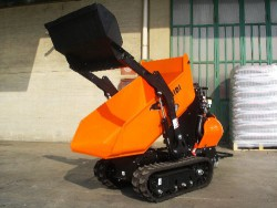MOTOCARRIOLA CINGOLATA AUTOCARICANTE CORMIDI C 10.80 Diesel - Nuova - VIDEO