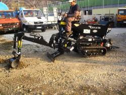 MOTOCARRIOLA CINGOLATA CORMIDI 13.80 BRACCIO ESCAVATORE - VIDEO