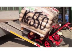 MOTOCARRIOLA CINGOLATA GIOR 500 Kg. HONDA MARUYAMA - PREZZO - VIDEO