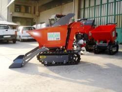 MOTOCARRIOLA CINGOLATA GIOR 600 Kg HONDA - AUTOCARICANTE IDROSTATICA - VIDEO