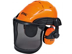 CASCO SET STIHL ADVANCE RETE METALLO