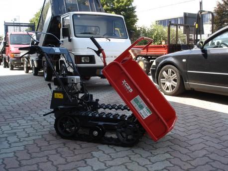 MOTOCARRIOLA CINGOLATA GIOR 250 KG. KAWASAKI SPONDE APRIBILI CASSONE AGRICOLO NUOVO