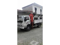 TRANSPORTER OPERATRICE DURSO FARMER SV 4WD  CON GRU BENELLI 2510/2S2 CON JIB - PARI NUOVO