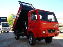 TRANSPORTER AGRICOLO USATO DURSO FARMER 480 SV 4WD - MOTOAGRICOLA