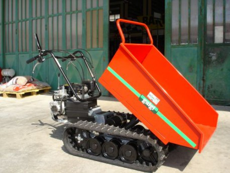 MOTOCARRIOLA CINGOLATA GALGI 550 HD   RIBALT. IDRAUL.  PORTATA Kg 550  -