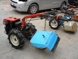 MOTOCOLTIVATORE USATO VALPADANA VMC 230 con ARATRO ROTATIVO - MOTORE DIESEL LOMBARDINI